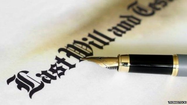 Government figures show number of contested wills rising - BBC News